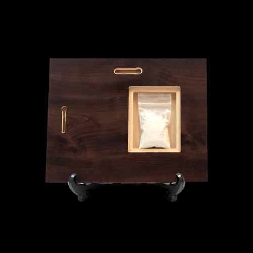 Discreet Cremation Keepsake Storage Compartment
