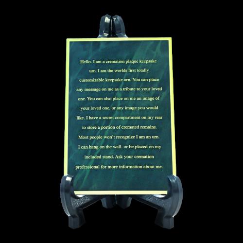 Custom Engraved Memorial Plaque